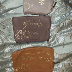 BCBG Max Azria makeup bags travel